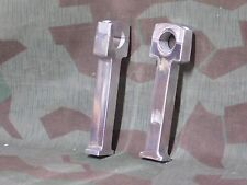 "Chopper 8""  tall polished  aluminum handlebar risers fits 1"" bars"