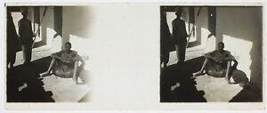 Afrique-Medicale-Photo-C12-Plaque-de-verre-Stereo-Vintage-ca-1910