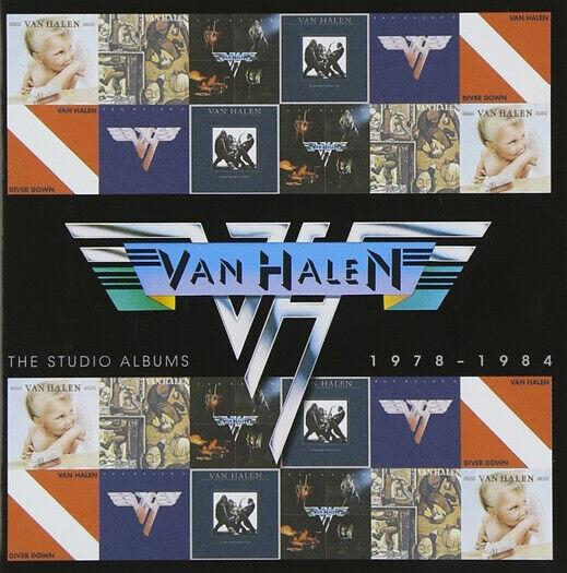 VAN HALEN STUDIO1978-1984 CD BRAND NEW BOX SET