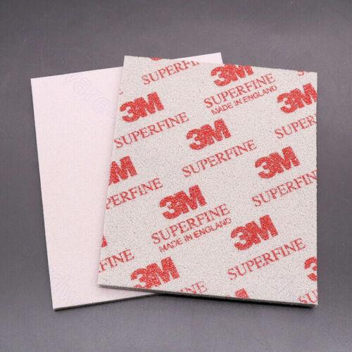 3M Softback Sanding Sponge Wet and Dry Sandpaper Grit 500-1500 Sanding Sheets