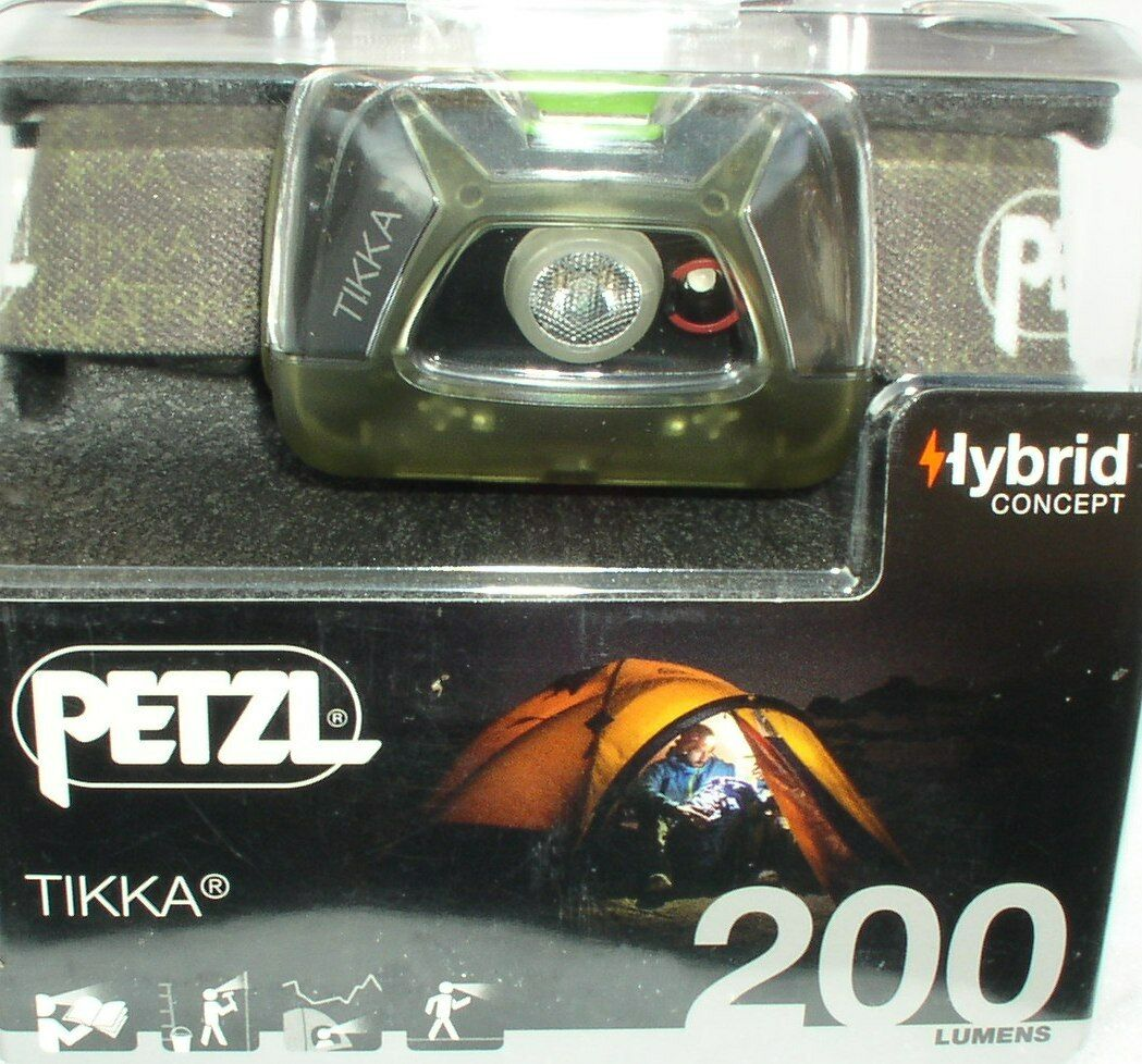 Petzl Petzl Petzl Lampe au Chapeau Tikka-à Green - 200 Lumens, Lampe frontale, lumineuse, assimilée 2fdca6