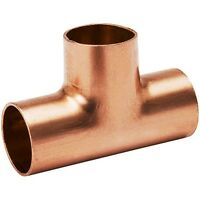 (bag Of 25) 3/4 Plumbing Copper Fitting Sweat Tee Cxcxc