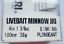 YO-ZURI DUEL LIVEBAIT JIG MINNOW 100mm 38gr.Shore Jig,Jigging,Hard Bait,Bonito