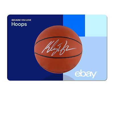 Because You Love Hoops  - eBay Digital Gift Card $15 to $200