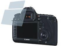 Canon EOS 5ds R (4x) crystalclear LCD Screen Guard protector de táctil