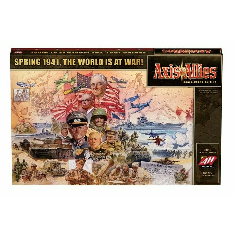 Axis & Allies Anniversary Edition Boardgame - New