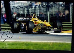 Heinz-Harald-Frentzen-Foto-Original-Signiert-Formel-1-G-18626