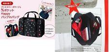 Agnes b canvas mini tote cosmetic makeup stationery small handbag bag organizer