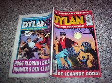 DYLAN DOG n.1 SVEZIA ORIGINALE OTTIMO/NUOVO (DE LEVANDE DODA)