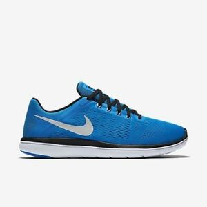 New Nike Flex 2016 RN Men's Running Training Shoes Photo Blue 830369 400