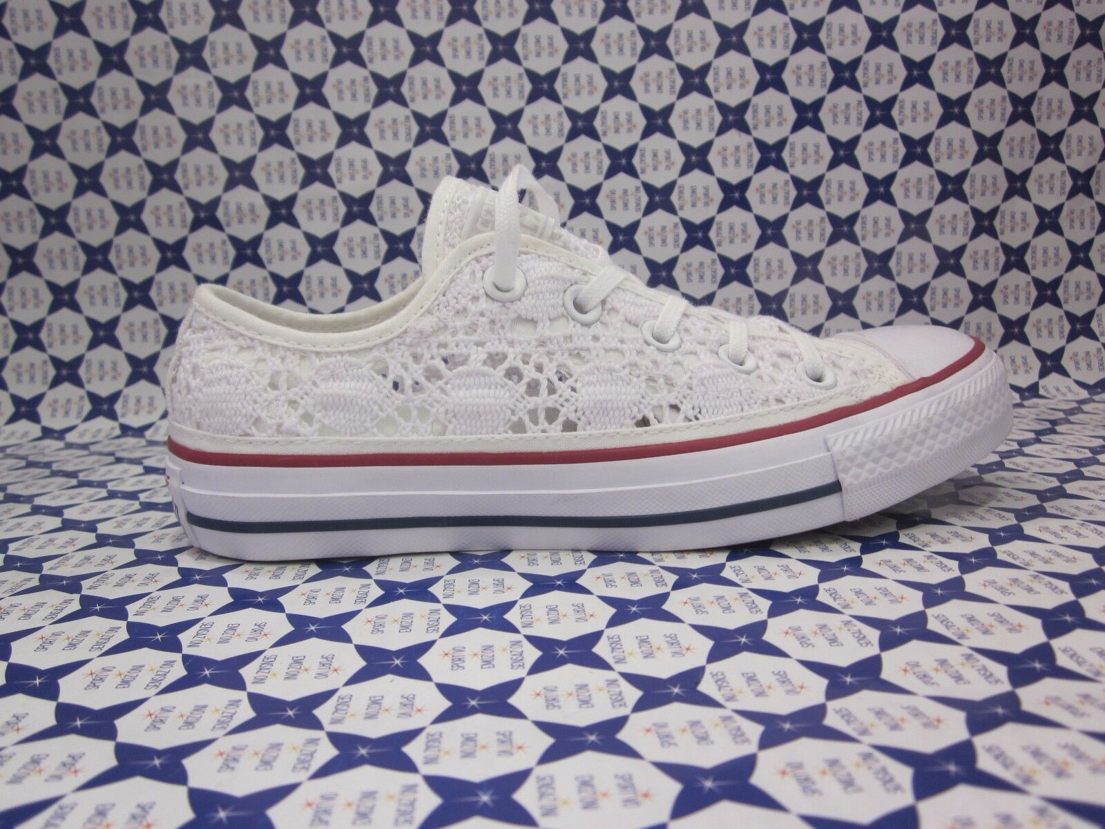 Chaussure Converse All Star Ox Low Crochet Casual White 549314 161