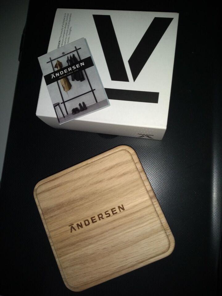 træ boks, Andersen furniture