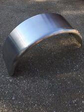 "(2) 33x18x9"" Smooth Aluminum Single Axle Round Trailer Fender 13"" 14"" 15"" Tire"
