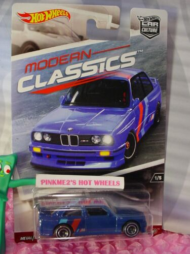 2017 Modern Classics '92 BMW M3 #1☆blue;Real Riders☆Hot Wheels Car Culture