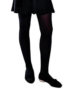 ff72dc2f8709a Girls Children Soft Opaque Tights Plain Semi Opaque 40 Denier School ...