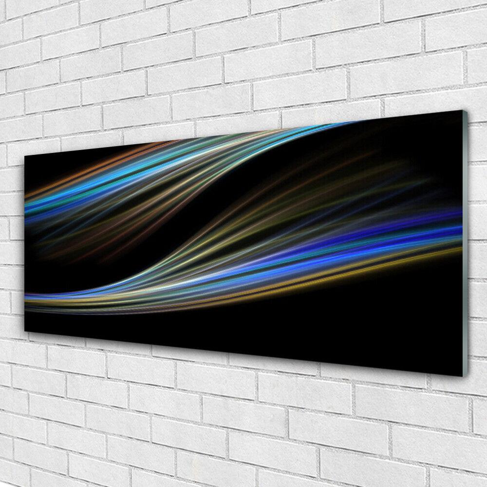 Acrylglasbilder Wandbilder aus Plexiglas® 125x50 Abstrakte Kunst Kunst