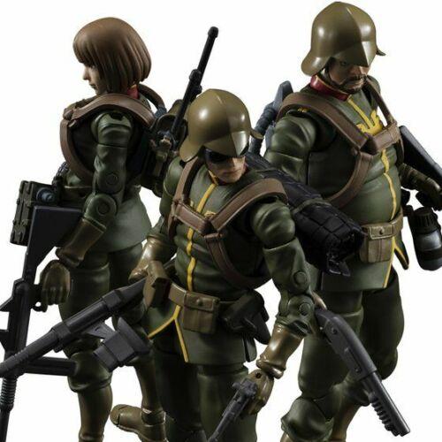 Gundam Military Generation Mobile Suit Gundam Zeon Principality Soldier 3set