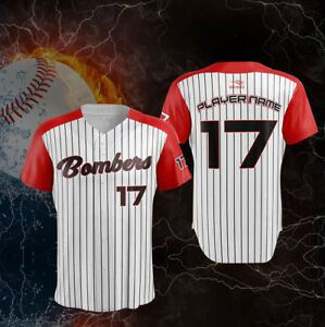 sale retailer f0494 bc8ee Details about 12 Custom Baseball Jerseys - Fully Sublimated - Includes  Names, Numbers, Logos
