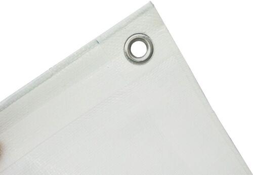 Gewebeplane Abdeckplane 180g//m² grün und weiß Holzplane Schutzplane Gewebeplanen