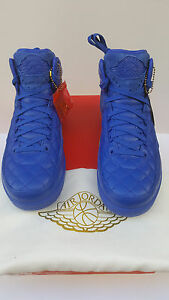 Nike Air Jordan Retro 2 DON C JUST DON BLUE 23 SZ9.5 SUPER LTD RELEAS 717170 405