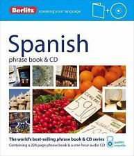 Phrase Book and CD Ser.: Berlitz - Spanish Phrase Book (2012, Paperback)