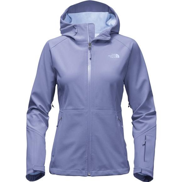11a859330 The North Face Apex Flex GTX Hooded Jacket - Women's Coastal Fjord Blue S