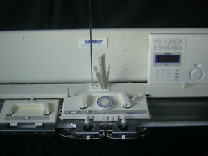 Brother-knitting-machine-Electroknit-KH-970-Electronic-Complete-amp-Serviced