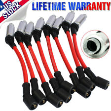8pcs High Performance Spark Plug Ignition Wires Fits For 1999 2006 Chevy Gmc V8