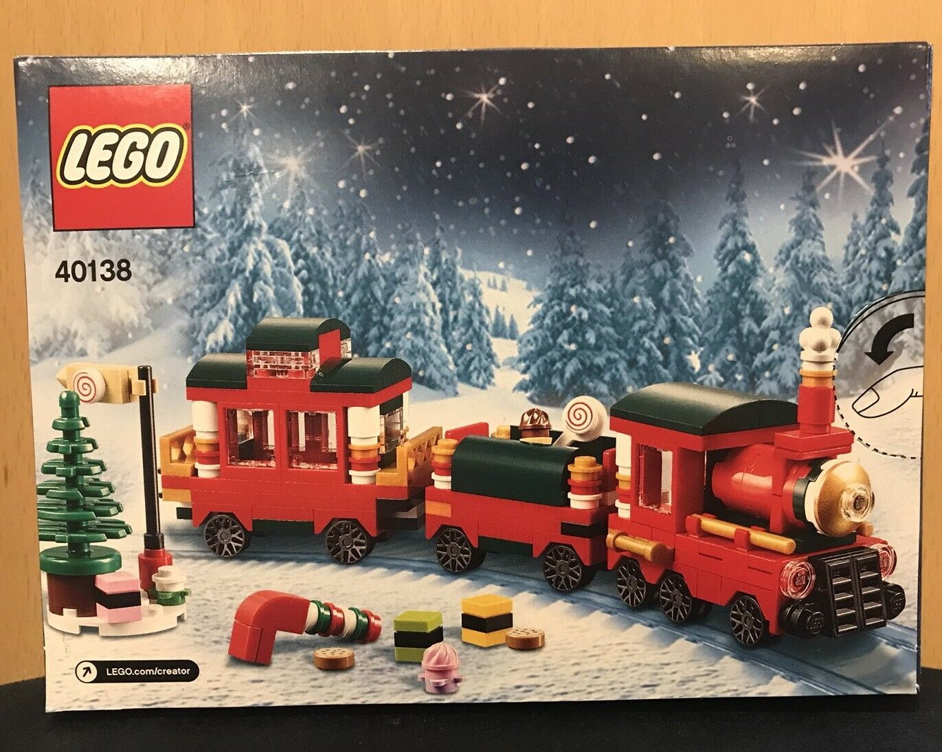 Lego 40138 2015 Limited Edition Holiday Christmas Christmas Christmas Train Retired Set New 63bc1d