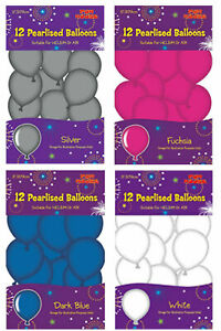 12x-Pearlised-Balloons-Party-decoration-Balloons-Birthday-Party-Wedding-Party