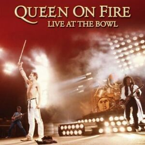 QUEEN-The-Vinyl-Collection-n-15-Queen-on-Fire-Live-at-the-Bowl-3-LP-Vinile