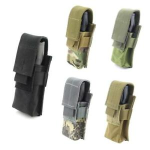 CQC-Molle-Tactical-Flashlight-Pouch-Single-Pistol-Magazine-Pouch-Torch-Holder