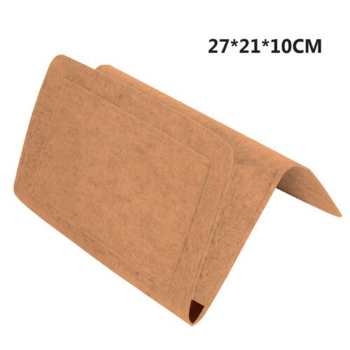 Bedside Pocket Caddy Storage Organizer Bed Desk Sofa Holder Bag Tidy Home