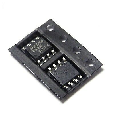 10PCS Original SOP-8 ATMEL AT93C66A AT93C66 93C66 SOP8 3 Wire Serial EEPROM