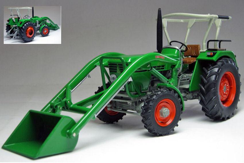 economico e di alta qualità Deutz d45 d45 d45 06 a W davanti autoicatrici 1972-1974 Vintage Tractor 1 32 modello Weise-giocattoli  Ritorno di 10 giorni
