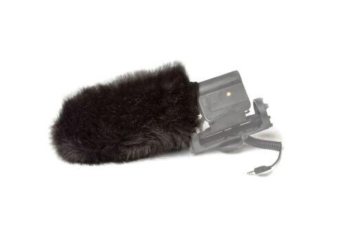 K-Tek KR-50-180 Fur Windsock for Rode Video Mic - Black Deadcat
