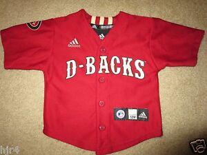8de6d0ff4f1 Image is loading Arizona-Diamondbacks-MLB-Baseball-adidas-Jersey-Baby-12m-