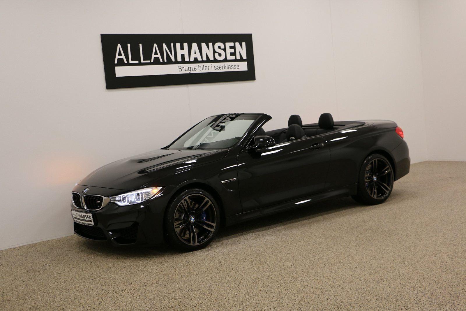 BMW M4 3,0 Cabriolet aut. 2d - 999.000 kr.