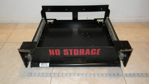 Trunk Slide Out Shelf//Tray//Drawer Storage Amplifier//Radio Police Package