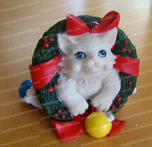 Just Popped in..Happy Holidays (Charming Purr..sonalities by Enesco, 4022707)