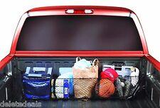 3 Pocket Cargo Net Trunk SUV Pickup Truck Beds Storage Organizer Groceries Tools