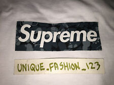 SUPREME MO WAX BOX LOGO TEE JAMES LAVELLE XL X-LARGE TSHIRT SAATCHI GALLERY BOGO