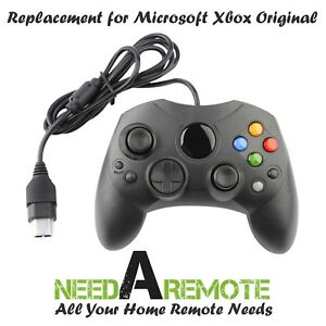 Replacement-Game-Controller-For-Xbox-Original-Black-S-Type-Brand-New-3Z