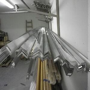 Aluminiumprofil-Aluwinkel-Aluminium-Aluprofil-L-Profil-Aluminium