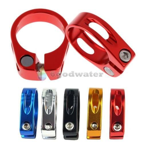 34.9mm Seat Post Clamp Aluminum Alloy MTB Bike Cycling Saddle