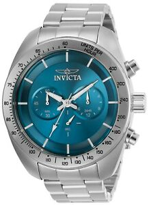 Invicta-30034-Speedway-Men-039-s-48mm-Chronograph-Stainless-Steel-Blue-Dial-Watch