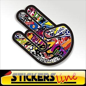 Stickers-adesivo-THE-SHOCKER-STICKERS-BOMB-shocker-hand-stickersbomb-M2-tuning