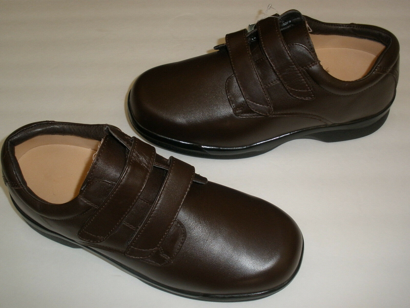 APEX HEALTH & WELLNESS LEATHER CONFORM ORTHOTIC LOAFERS US 12.5  HOT UNIQUE