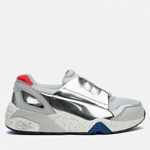 2f52f58bacbf Puma X Alexander McQueen Womens MCQ Lace Disc Gray Trainers 359352 ...