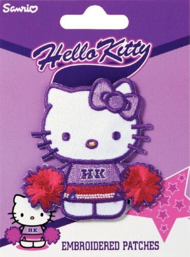 925150 PRYM ferro su motivo ricamato Applique Fiori di Hello Kitty-ogni